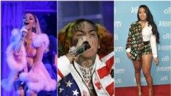Top 10 Americano: 6ix9ine, Meghan Thee Stalion e Ariana Grande em grande!