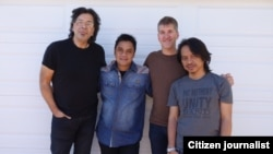 Dwiki Dharmawan menggarap album terbarunya di Los Angeles dibantu Dewa Budjana (foto/dok: Dewa Budjana)
