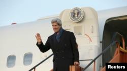 Sakataren harkokin wajen Amurka John Kerry.