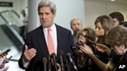 John Kerry, dicalonkan Obama sebagai Menlu AS, menggantikan Hillary Clinton yang tidak ingin memperpanjang jabatannya. (Foto: Dok)