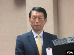 台湾国防部副部长李喜明上将