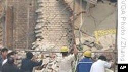 中国北京一家新疆风味餐馆发生爆炸