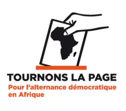 Marc Ona Essangui du collectif Tournons la Page joint à Libreville par Nathalie Barge