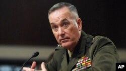 Đại tướng Joseph Dunford, Tư lệnh Thuỷ quân Lục chiến, sắp được Tổng thống Obama đề cử giữ chức Chủ tịch Ban Tham mưu Liên quân Hoa Kỳ.