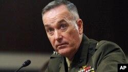 جوزف دنفورد، در مجلس استماعیه کمیتۀ امور نظامی سنا