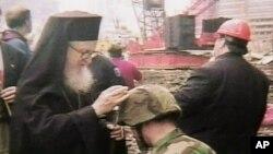 O Αρχιεπίσκοπος Αμερικής κ. Δημήτριος στο Σημείο Μηδέν