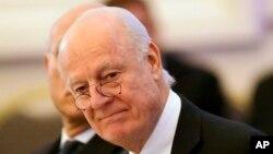 استفان دی میستورا نماینده ویژه دبیرکل سازمان ملل متحد در امور سوریه - آرشیو