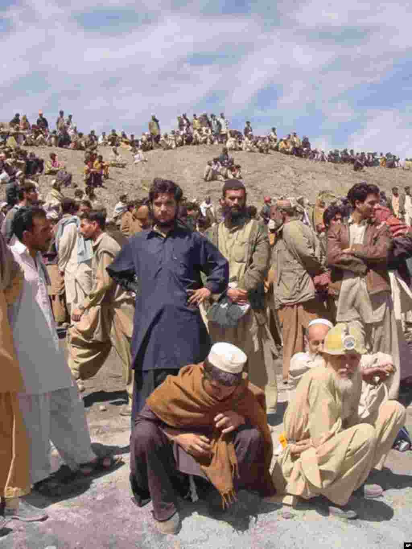 بلوچستان کی کان میں حادثہ