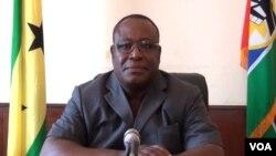 Jorge Amado, líder da oposição em São Tomé e Prínicipe