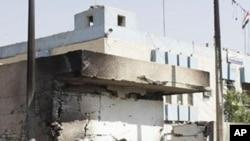 10月25号伊拉克首都巴格达一个警察局前发生炸弹袭击