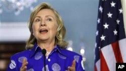 希拉里.克林頓星期四前往土耳其,討論利比亞局勢