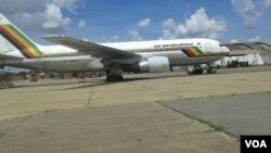 Indizamtshina ye Air Zimbabwe.