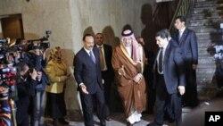وهزیری دهرهوهی عهرهبستانی سعودیه دهگاته کۆبونهوهکهی وهزیرانی وڵاتانی کۆمکاری عهرهب له میسڕ، قااهیره 12ی سێی 2011