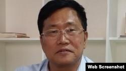 代理敏感案件的主要律所北京锋锐所主任律师周世锋(参与网图片)