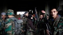 ဆီးရီယား Aleppo ၿမိဳ႕သိမ္းေအာင္ပဲြခံ