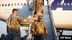 ამერიკელი ჯარისკაცები უკვე თბილისში არიან
