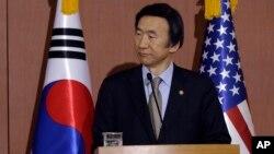 Menlu Korsel Yun Byung-se membatalkan rencana kunjungannya ke Jepang sebagai protes (foto: dok).