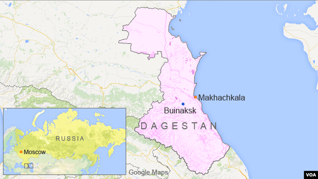 The Republic of Dagestan is a federal subject of Russia, located in the North Caucasus region.
