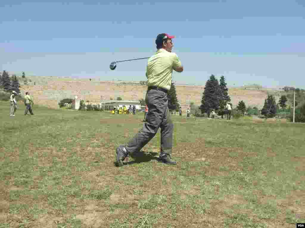 Golf sport in Herat Afghanistan