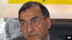 图为被美国逮捕的赛义德·古拉姆·纳比·法伊资料照