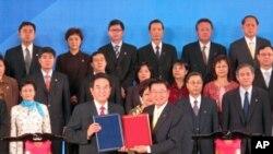 第六次江陈会签署了两岸医药协议