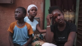These refugees from the Malian town of Gao are staying in Bamako, the country's capital.