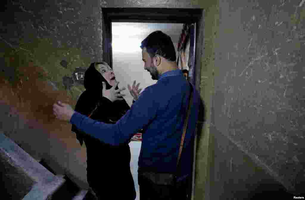 دیدار مادر و فرزند در مصر، پس از سالها فراق