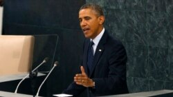 Obama On Syria At UNGA