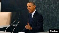 Obama On Syria At UNGA