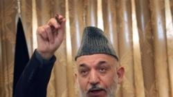 انتقاد کرزی از دخالت بیگانگان در افغانستان
