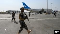 کابل ایئرپورٹ کی سیکیورٹی طالبان کی بدری فورس نے سنبھال لی ہے۔