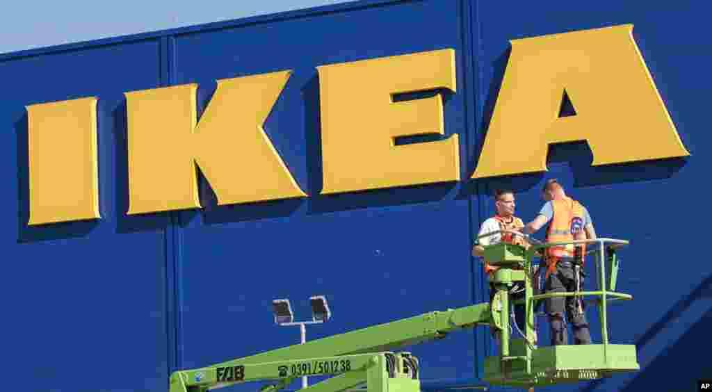 افتتاح یک شعبه دیگر فروشگاه لوازم خانگی «IKEA» در آلمان. ایکیا یک شرکت موفق سوئد است.