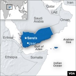 Al-Qaida mengambil alih kota Jaar di Yaman bagian selatan, Minggu (27/3).
