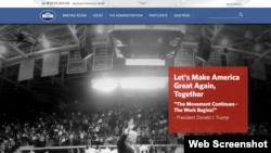 El sitio web de la Casa Blanca todavía es una obra en construcción, según dijo el portavoz de la Casa Blanca, Sean Spicer.