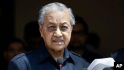 မေလးရွား၀န္ႀကီးခ်ဳပ္သစ္ Mahathir Mohamad
