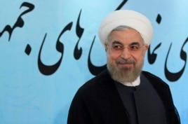 FILE - Iran's President Hassan Rouhani is decidedly less hostile to the United States than his predecessor.