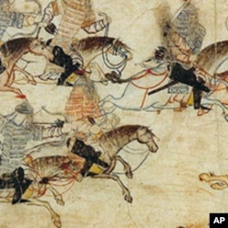 四处征战的蒙古骑兵
