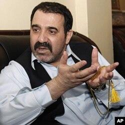 Ahmad Wali Karzai (photo prise le 14 avril 2010)