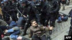 Новые протесты в столице Хорватии
