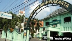 Markas DenPOM IV 4 Surakarta (Foto: VOA/Yudha)