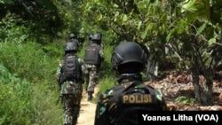 Operasi Tinombala 2016 hingga kini belum berhasil menangkap Santoso (foto: ilustrasi).