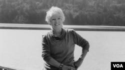 Author LLyn De Danaan at home in Mason County, Washington. (Mary Randlett.)