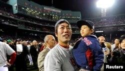 ທີມ Red Sox ຊະນະ ແຊ້ມ Baseball ອີກ
