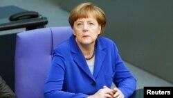 24 Nisan 2015 - Almanya Başbakanı Angela Merkel
