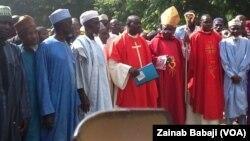 Taron shugabannin addinai kan zaman lafiya a jihar Plateau, Nigeria.