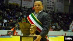 محمد نصیری وزنه بردار پرافتخار ایرانی - آرشیو