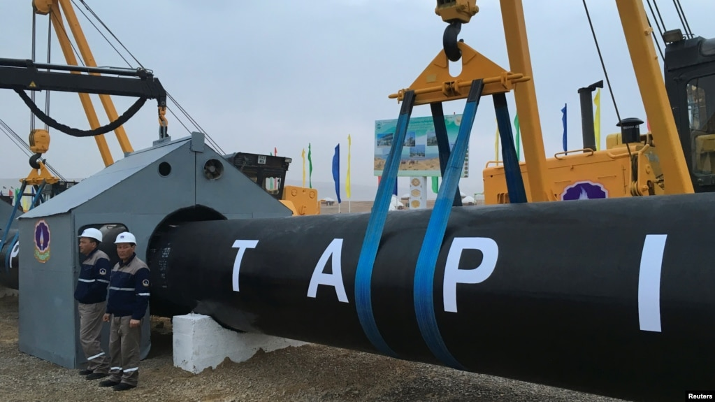 taliban vows to protect tapi gas pipeline project - Tapi