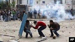 Mapambano ya waandamanaji na Polisi Misri.