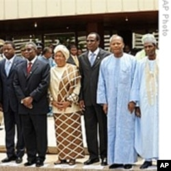 African leaders at a recent ECOWAS summit.