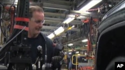 미국의 자동차 생산공장